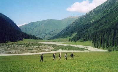 Горы Кырнызстана